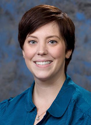Emily Dutch, associate director of student life, Drexel University
