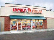 Exterior of a Family Dollar store. The nation's two largest dollar-store chains are kicking the tires in Sacramento as part of an expansion to California.