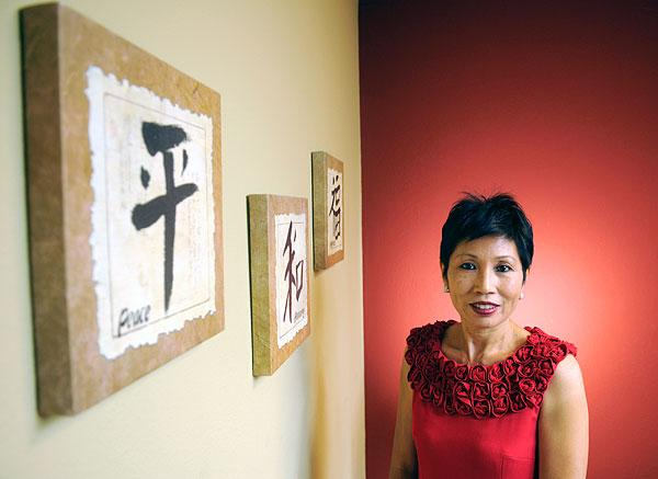 Pat Fong Kushida has been chief of Sacramento's thriving Asian Pacific Chamber of Commerce.