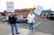 Hostess asked for court permission to liquidate, citing a strike by its bakers' union.