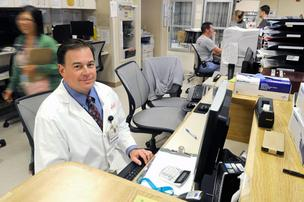 Dr. Peter Hull, emergency room director at Sutter Roseville Medical Center, is a member of CEP America.