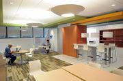 Intel's Folsom office incorporates several more relaxed settings for its employees.