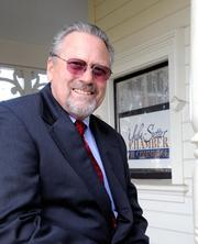 """Rik Jimerson, president of the Yuba-Sutter Chamber of Commerce, is trying to get Beale Air Force Base to """"shop local"""" first."""