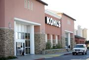 Customers at Kohl's can order from in‑store kiosks.