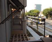 La Valentina Northoverlooks light-rail's Blue Line, providing residents with convenient transportation options.
