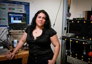 Gina Lujan, whose Hacker Lab is the main sponsor of Cereal Hack, has participated in hackathons herself.