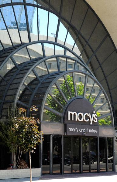 The Sacramento Kings new ownership group may ask the city to use the threat of eminent domain to help buy the the building housing the Macy's men's store at Downtown Plaza