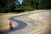 Magnus Pacific built a bike path on top of one of its levees in West Sacramento.