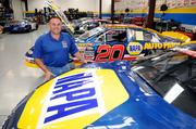 Former NASCAR driver Bill McAnally's shop in Roseville will give customers having their cars repaired a glimpse into the world of auto racing .