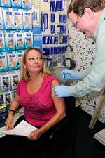 Drugstores compete with medical offices for vaccination market share