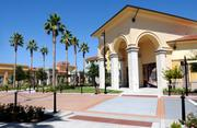 Columns, arches and tile roofs are some of the Italian-style architectural elements used throughout Palladio at Broadstone.