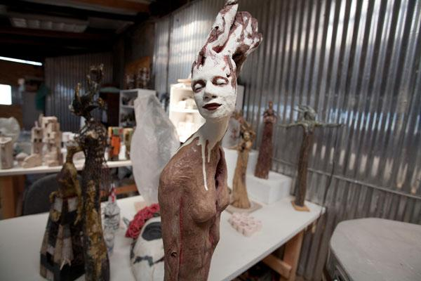 Sculpture will be on display at Panama Pottery, which will also feature artist studios and tours of the old pottery plant.