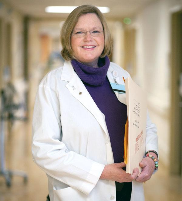 As a breast cancer navigator at Sutter Health, Mary Pare helps patients both before and after surgery.