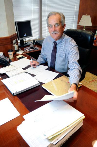 Robert Perry-Smith says his accounting firm's purchase by Crowe Horwath will result in few changes of his staff.