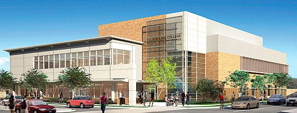 The Rancho Cordova branch of Folsom Lake College is expected to cost $39 million. The goal is to open the first phase of the branch in 2015.
