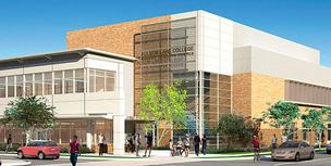 The Rancho Cordova branch of Folsom Lake College is expected to open its first phase in 2015.