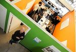 Hip workspaces help large companies find tech talent, keep them happy