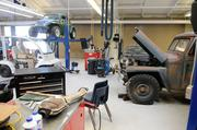 San Juan High School students majoring in transportation technology spend much of their time in a new automotive shop.