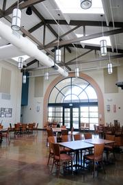 San Juan High School's hospitality and culinary program has a dining room for students to learn their craft.