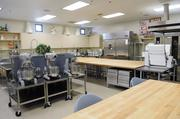 San Juan High School's hospitality and culinary program has a well-equipped kitchen for students to learn their craft.
