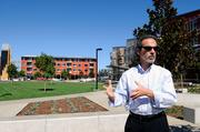 """Planners are confident West Village will achieve zero net energy in its first year. """"We think we have the formula,"""" said Bob Segar, assistant vice chancellor for campus planning and community resources."""