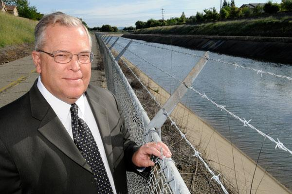 Chuck Spinks, a consulting engineer with Kimley-Horn and Associates, said investing in maintenance of the state's infrastructure — such as the Folsom South Canal, above — is critical.