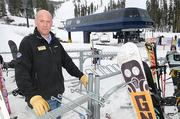 """John Monson, director of marketing and sales at Sugar Bowl: """"While we haven't really expanded the footprint of snowmaking, we've gotten better at snowmaking where we do it."""""""