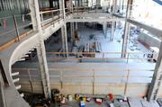 The interior of Sutter's Women's and Children's Center begins to take shape, following instructions from computer modeling in which conflicts are worked out digitally rather than at the job site.