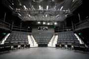 The simplier black box theater at Three Stages is perfect for college classes.