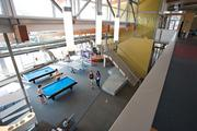 UC Davis West Village's recreation center has pool tables, ping-pong tables and other amenities for students.