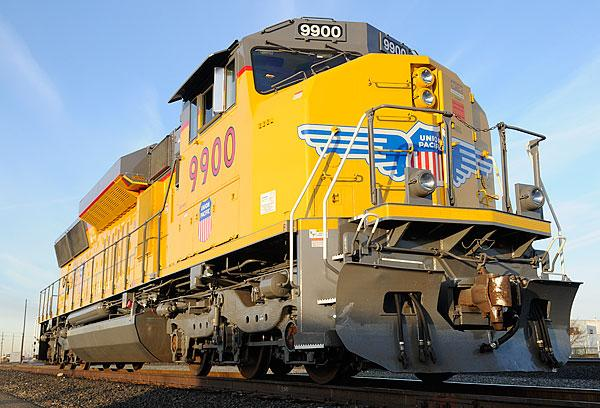 Union Pacific Railroad has targeted the Sacramento area to test its new technology, which is designed to reduce diesel emissions from freight locomotives.