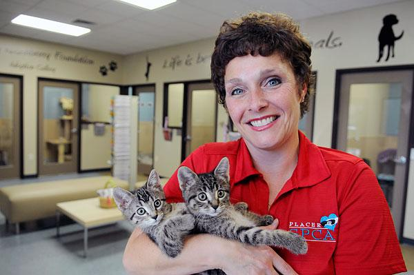 Leilani Veirra, CEO of the Placer SPCA, says the Auburn center sets a standard for animal care.