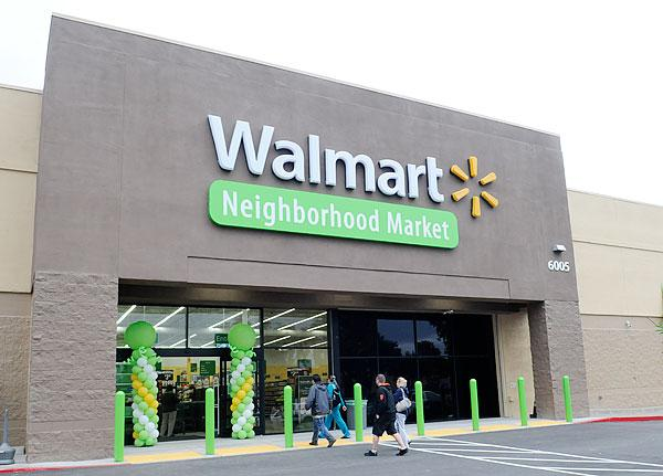 Wal-Mart Stores has begun working on the Walmart Neighborhood Market that it is bringing to Rocklin. The grocery-format store is expected toopenlate this year. This is a file photo from an existing location.