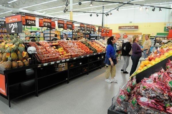 Walmart opened its fifth area Neighborhood Market this week in Carmichael.