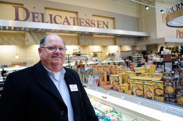 Randy Walthers oversees the energy and utilities at the Bel Air market on Arena Boulevard in North Natomas.