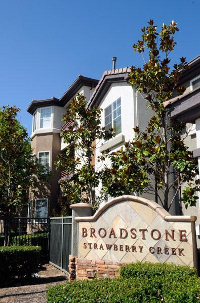 The 264-unit Broadstone at Strawberry Creek apartments recently sold for $36 million.
