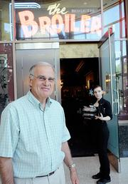 Larry Lord moved The Broiler to K Street from its J Street location, where it had been for 49 years.