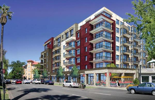 Negotiations are under way to build an apartment complex at 16th and P streets.