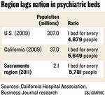 Sacramento County gets funds to improve psych care