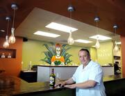 "Ernesto Delgado of Tequila Museo Mayahuel at 1200 K St. says, ""We are here to stay."""