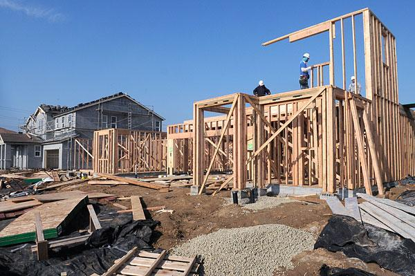 Taylor Morrison is building the Rancho Verde housing tract in Elk Grove, which issued 324 single-family home permits through October.