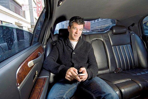 Travis Kalanick, Uber Technologies CEO and cofounder.