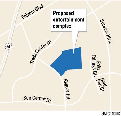 A proposed entertainment complex that the city of Rancho Cordova has promoted for several years is expected to take another step forward next week.