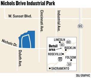 Map: Nichols Drive Industrial Park