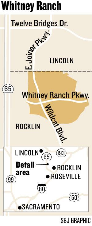 Map: Whitney Ranch