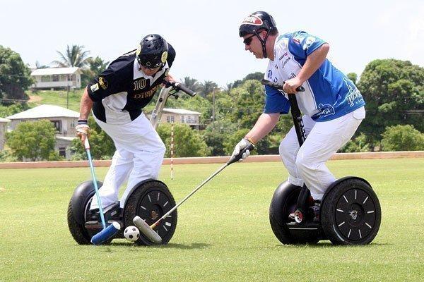 Folsom is hosting a Segway polo championship.