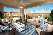 """Covered exterior rooms, called """"California rooms,"""" will be available in some of the homes at Standard Pacific Homes' new community in Rocklin."""