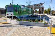 A new light-rail station is one transit feature of Township 9 that could appeal to commuters.
