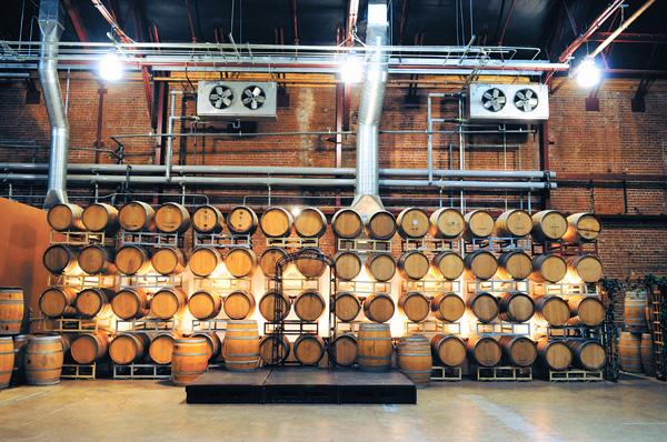 The Old Sugar Mill in Clarksburg will have 10 winery tasting rooms, up from eight a year ago. The 80-year-old facility features more than 100,000 square feet of improved space that could eventually accommodate more than 20 wineries.