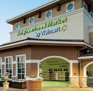 Wal-Mart Stores Inc. opened its latest Walmart Neighborhood Market today at 8455 Elk Grove Blvd. The new grocery-format store is in the same shopping center as the existing, traditional format Walmart store. Both are open around the clock.